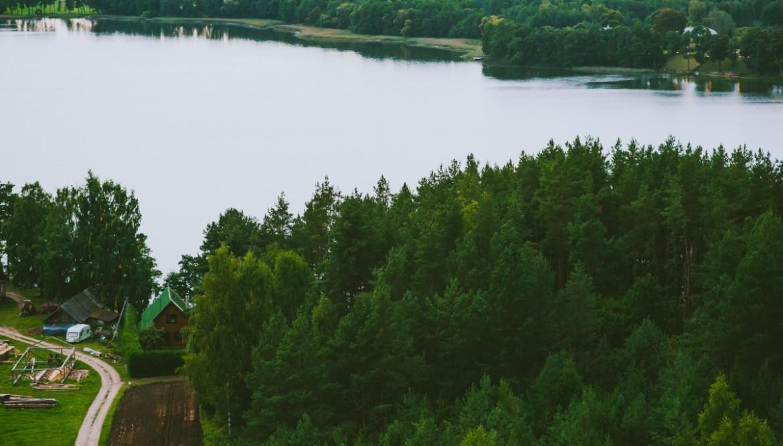 Gražuolio Alaušo ežero spalvos