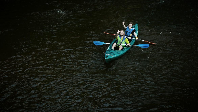 Nuotykių kupina kelionė Baltosios Ančios upe į Nemuną